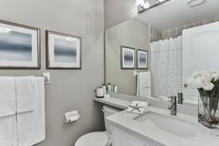 Bathroom Interior Design royalty free stock photos