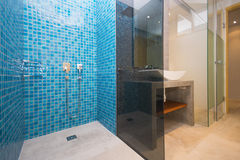 Interior design of bathroom Stock Image
