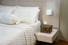 Interior design - bedroom Stock Photography