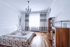 Interior design bedrooms. Royalty Free Stock Photography