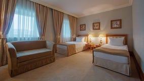 Interior design. Big modern Bedroom Royalty Free Stock Image