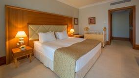 Interior design. Big modern Bedroom Royalty Free Stock Photography