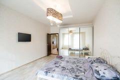 Interior design big modern Bedroom Royalty Free Stock Images