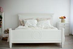 Interior design: Big modern Bedroom Stock Images