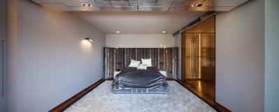 Interior design: Big modern Bedroom Royalty Free Stock Images