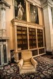 Interior design in a British palace Stock Photo