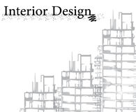 Interior design. Can be used by many companies Royalty Free Stock Photos