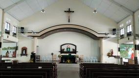 Interior Design of Christian Church Stock Image