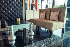 Interior design classico Immagini Stock