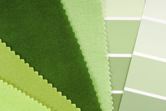 Interior design color choice Royalty Free Stock Images