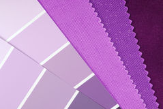 Interior design color choice Royalty Free Stock Photography