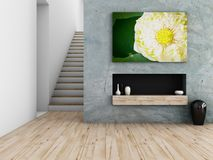 Interior design concept Stock Images