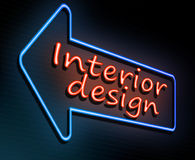Interior design concept. Stock Image