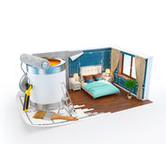 Interior design concept Royalty Free Stock Images
