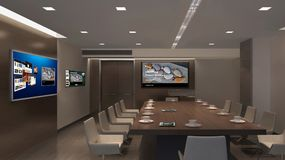 Interior Design, Conference Hall, Office, Ceiling Royalty Free Stock Photography