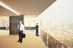Interior design daylight Stock Image