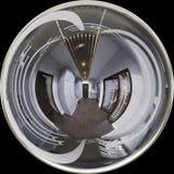 interior design del corridoio dell'illustrazione 3d nello stile classico Render è Immagini Stock