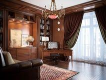 Interior design del Ministero degli Interni nello stile classico Illustrazione Vettoriale