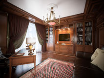 Interior design del Ministero degli Interni nello stile classico Fotografia Stock Libera da Diritti
