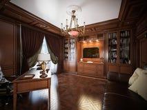 Interior design del Ministero degli Interni nello stile classico Fotografie Stock Libere da Diritti