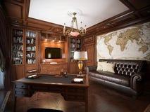 Interior design del Ministero degli Interni nello stile classico Royalty Illustrazione gratis