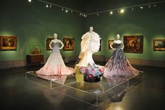 Interior design del museo di belle arti di Pushkin a Mosca Fotografia Stock