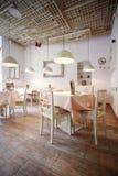 Interior design del ristorante Immagini Stock