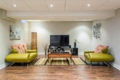 Interior design del seminterrato Immagini Stock