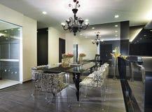 Interior Design - Dining Area Stock Photos