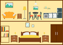 Interior design domestico Fotografia Stock