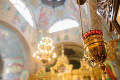 Interior design elements of the Christian church. incense. Stock Photography
