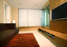 Interior design entertainment Stock Photos