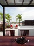 Interior design - garden Stock Image