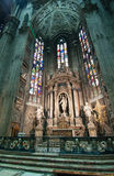 Cathedral in Milan Stock Image