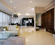 Interior Design - Living Stock Photo