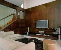 Interior design - living. Living area with sofa set Royalty Free Stock Photos