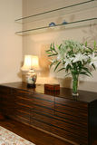 Interior design - living. Living area with tv console Stock Photo