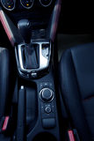 Interior design of Mazda CX-3 dashboard Royalty Free Stock Photography