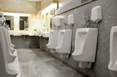 Interior Design of Men's Toilet Royalty Free Stock Photos