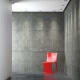 Interior design minimalistic composition vector illustration