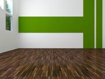 Interior design of modern empty living room Stock Photography