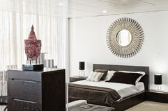 Interior design in modern home. Room Royalty Free Stock Images