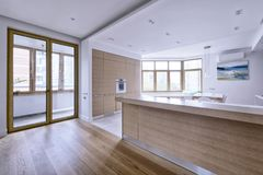 Interior of a modern house. Royalty Free Stock Photography