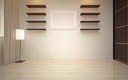 Interior Design. Modern living room Stock Photo
