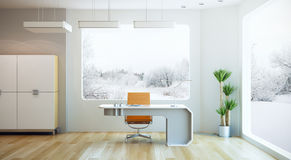 Interior design of modern office Stock Image