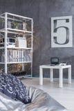 Interior design moderno creativo della stanza fotografie stock