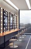 Interior design moderno del salone Fotografia Stock Libera da Diritti