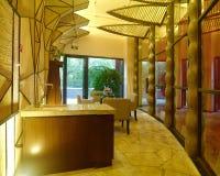 Interior design moderno della stazione termale Fotografia Stock Libera da Diritti