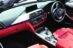 Interior design of NEW BMW 640I coupe M sport Stock Photography