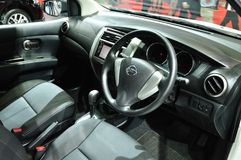 Interior design of Nissan Livina Royalty Free Stock Photography